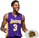 Anthony Brown serving up a poo poo platter